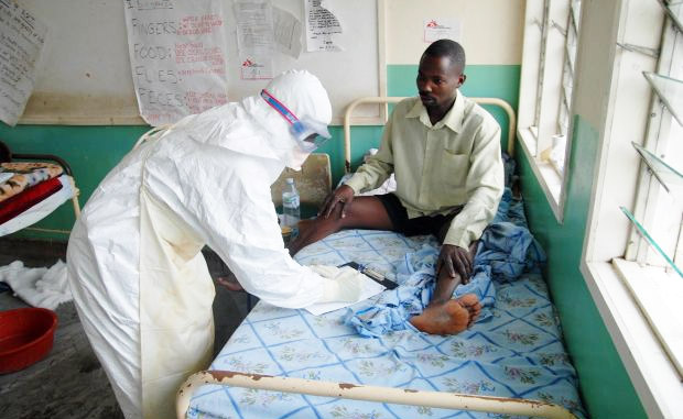 фото: заболевший Эболой