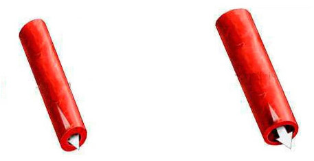 снижение тонуса, расширение сосуда и улучшение кровотока под действием вазодилататора